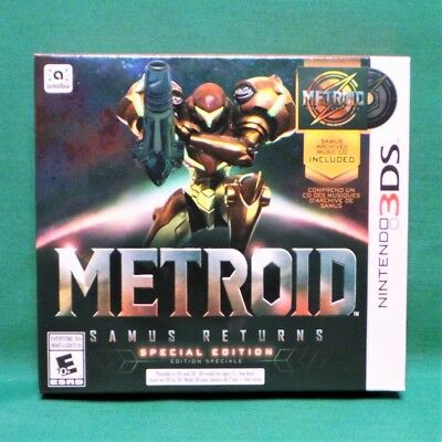 Metroid Samus Returns  Special Edition  Nintendo 3Ds  2017  Ntsc Us Version
