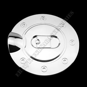 For FORD F150 2004 2005 2006 2007 2008 Chrome Gas Fuel Cap Door Cover 1PC