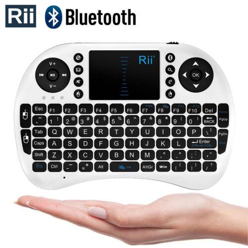 Rii i8BT Wireless Bluethooth Mini Keyboard Mouse Touchpad Ta