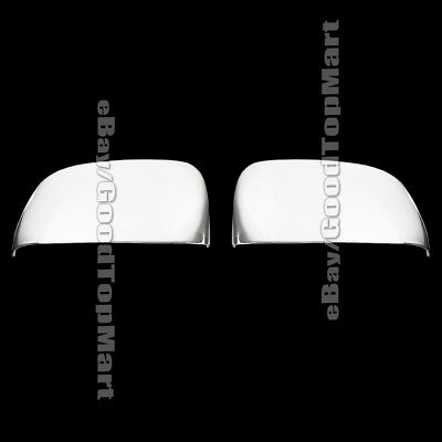 For 2008-2013 2014 2015 Chrysler TOWN & AND COUNTRY 2 Chrome Half Mirror Covers