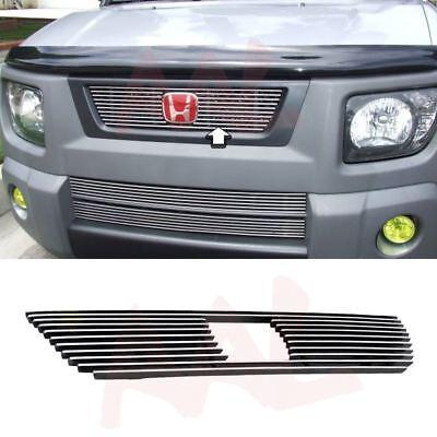 AAL FOR 2003-2006 Honda Element Billet Grille Insert (Bolt Over Logo Show) Bolt Over Billet Grille Insert