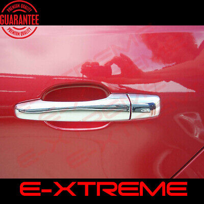 FOR CADILLAC STS 05-07 CHROME 4 DOORS HANDLES COVERS W/OUT PASSENGER KEYHOLE