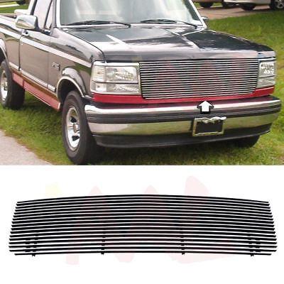 AAL 1992-1997 Ford Bronco/F-Series Pickup Upper Replacement Billet Grille Insert - Ford Bronco Grille Replacement