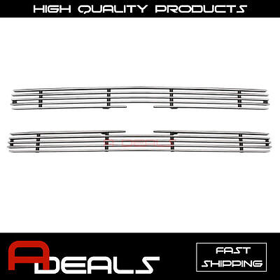 FOR CHEVY S-10 PICK UP/S-10 BLAZER 1991-1992 UPPER BILLET GRILLE GRILL INSER A-D