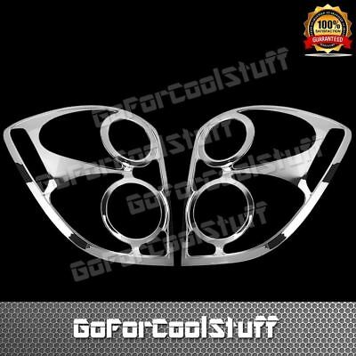 For 10-15 Chevy Equinox Chrome Tail Light Abs Cover