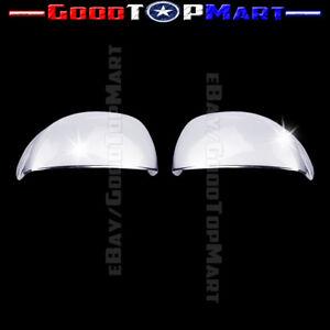 For Honda CIVIC 2012 2013 Chrome Top Half Cap Mirror Covers PAIR Mirrors
