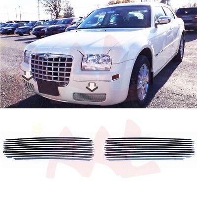 Chrysler 300 Billet (AAL For 2005-10 Chrysler 300 Bumper Billet Grille Insert (Cover The Fog)