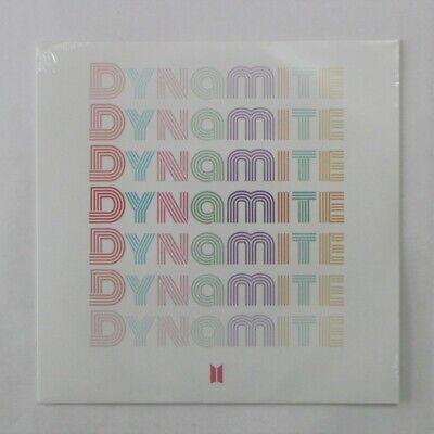 "BTS Official Dynamite Vinyl 7"" LP Limited Edition Sealed K-pop Bangtan Boys"