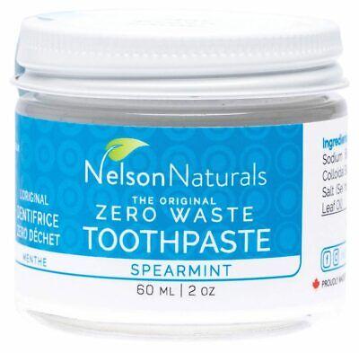 Nelson Naturals Zero Waste Toothpaste - Spearmint 60ml