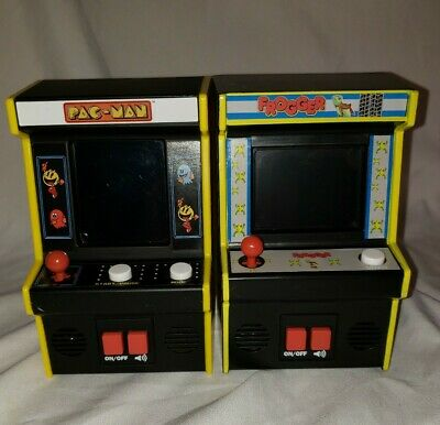 Mini Arcade Machines - Pac-Man And Frogger. Works