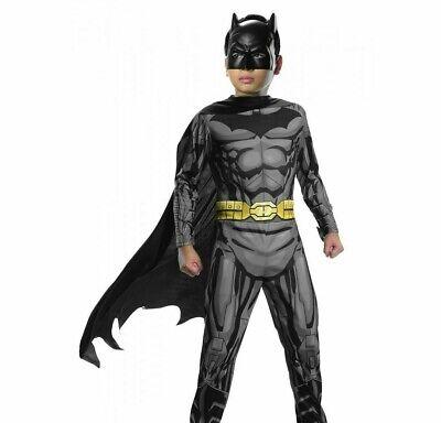 Batman Costume Kids Superhero Halloween Fancy Dress - SIZE 2 - 4](Batman Kids)