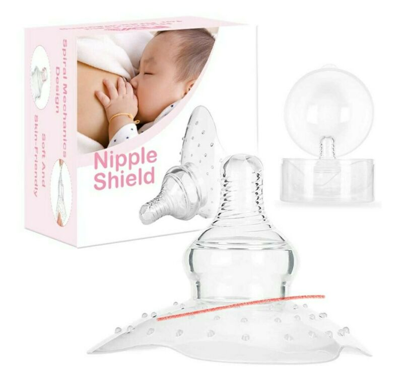 Nipple Shield Premium Contact Nippleshield for Breastfeeding Latch Difficulties