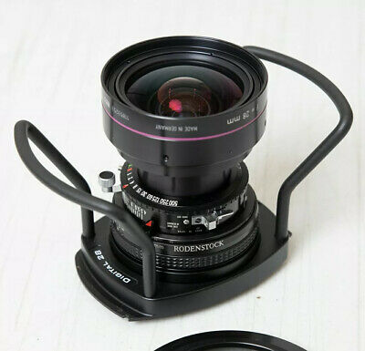 Rodenstock 28mm f/4.5 apo-sironar digital HR w/center filter cambo wrs