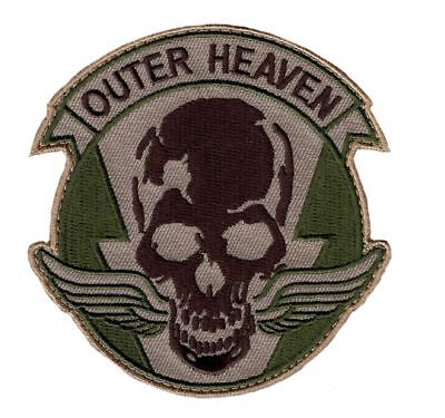 METAL GEAR SOLID OUTER HEAVEN EMBROIDERED HOOK PATCH (Paradise Hook)