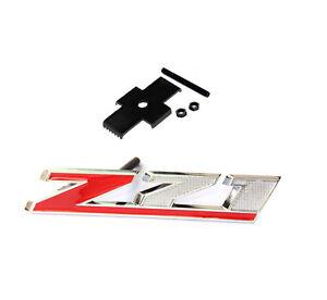 OEM Grille Z71 Emblem Badge for GM Chevy Silverado Sierra Tahoe Suburban FU Red