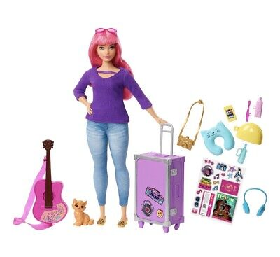 Barbie Dreamhouse Adventures Daisy Doll & Travel Accessories 10+ Stickers New 3+