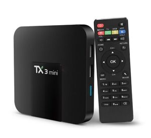 TX3 Mini Android box 7.1 fully programmed