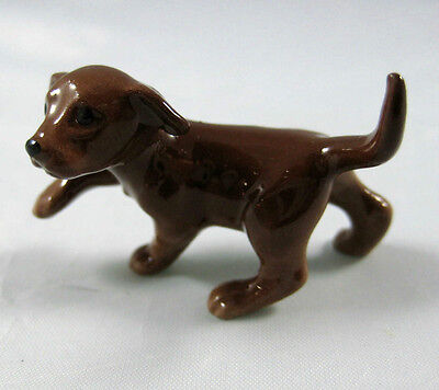 Hagen Renaker miniature Labrador Retriever Pup dog chocolate for sale  Atlanta