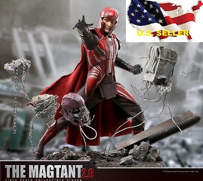 1/6 X-men Magneto 2.0 Michael Fassbender The Magtant Action Figure ❶US Seller❶