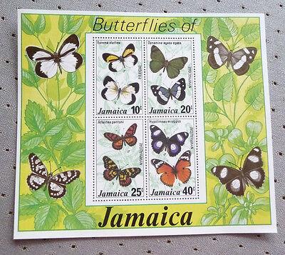 Jamaica sheet of stamps - Butterflies
