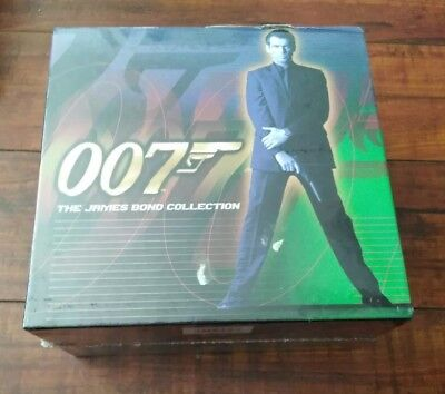 James Bond Collection 007 VHS Video 7-Tape Set Sealed New Goldfinger Dolden eye