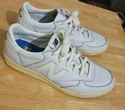 New Balance 300 Vintage White Leather Trainers - UK 10.5, VGC