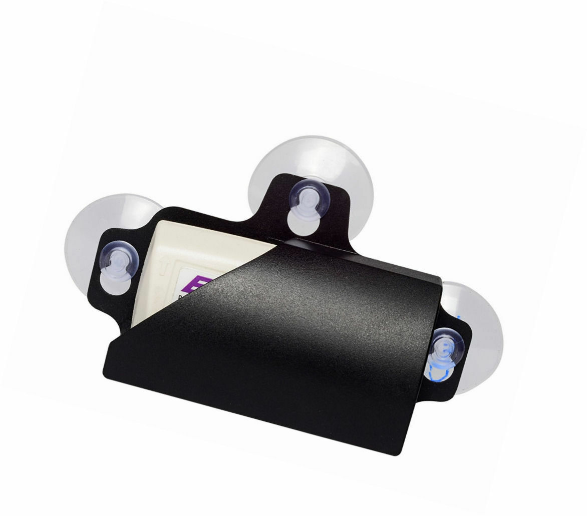 Details about Clear Removable Toll EZ Pass Transponder Tag Holder W/ 3  Suction Cups For Glass