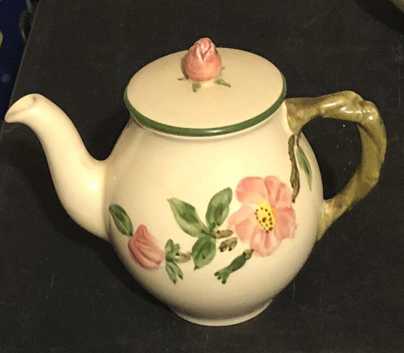 franciscan desert Rose individual coffee pot