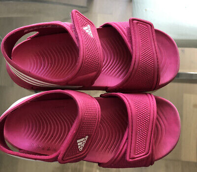 Adidas Girls Pink Sandals Infant Size 9
