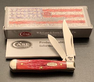 1996 CASE XX 6225 1/2 BLOCK LETTER RED BONE COKE BOTTLE POCKET KNIFE