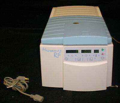 Thermo Iec Micromax Rf Refrigerated Microfuge Centrifuge W851 24 Position Rotor
