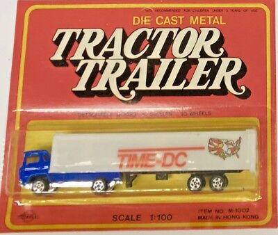 Vintage Road Champs HO Scale Cabover Tractor & Trailer  for sale  Shipping to Canada