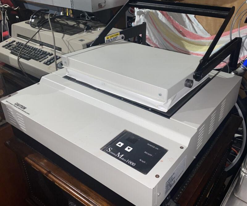 Xpress Screen Maker 1000 T-Shirt Screen Maker