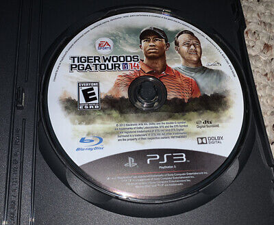 Tiger Woods PGA Tour 14 (PlayStation 3 PS3) Disc Only 2014 Golf