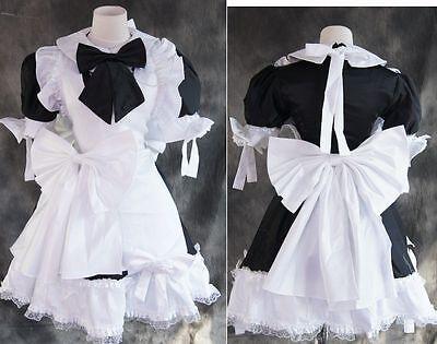 a-023 S/M/L/XL/XXL kurz LOLITA MAID Uniform Cosplay Kostüm costume Kleid dress