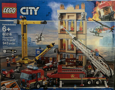 LEGO Downtown Fire Brigade Set (60216) Slight Box Damage