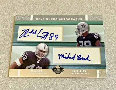 2007 Topps Co-Signers #CSA-CB Ronald Curry Michael Bush