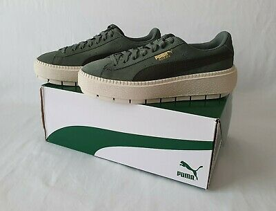 Puma Suede Platform Trace Junior Trainers - Size 5 38 - New In Box - RRP £75
