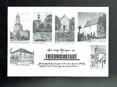 AK: FRIEDRICHSTADT / 6 KIRCHEN - mit JUDEN SYNAGOGE (g)