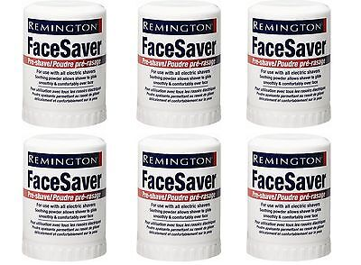 Remington SP-5 Pre-Shave Talc Stick Face Saver For all Men's Shavers, Pack of 6