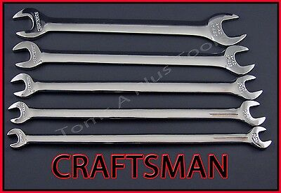 Craftsman Hand Tools 5pc Full Polish Sae Thin Head Tappet