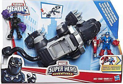 Playskool Super Hero Adventures E0290 Marvel Power Paw Black Panther NEW RARE