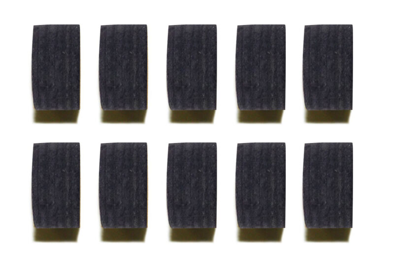 Wholesale price! Lot of 10 Pool Black 12 Layers Cue Tips 14 MM Soft Tips