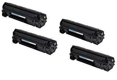 4-Pk/Pack 78A CE278A Toner for HP LaserJet Pro M1536DNF MFP P1560 P1566 P1606DN, usado segunda mano  Embacar hacia Mexico