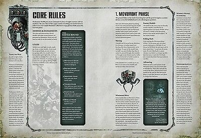 Warhammer 40K Dark Imperium 8th Edition Core Rules Rule Book