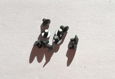 Lot of 10 Parker 61 Pencil Pearly Grey Cap Top Jewel PARTS, NOS, USA (#33)