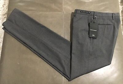 NWT PT01 Ghost Project Pantaloni Torino Italy Slim Fit Wool Pants 46 30 $495