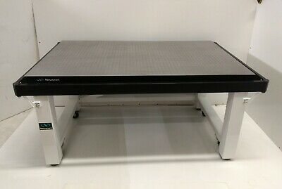 Tested Newport Optical Table Roll-around Isolation Bench Breadboard
