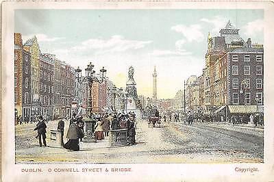 BR39785 Dublin o connell street and bridge ireland