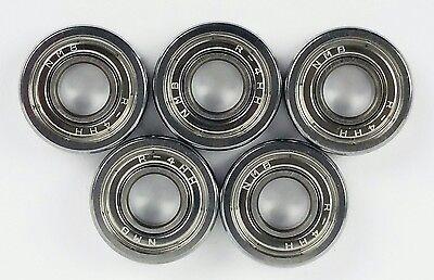 10 Pack Minebea Nmb R-4hh R-4hhmtr 14 Id X 58 Od X.196 Bearing Chrome Steel